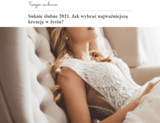 twojasuknia.pl screenshot
