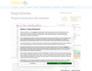 twojedziecko.pl screenshot