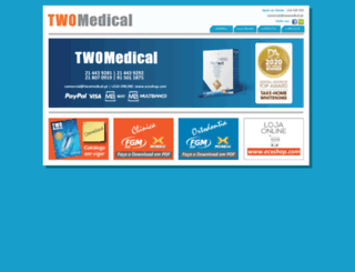 twomedical.pt screenshot