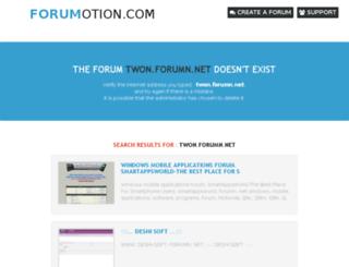 twon.forumn.net screenshot