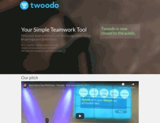 twoodo.com screenshot