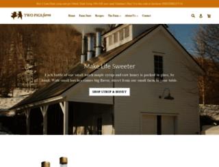 twopigsfarm.com screenshot
