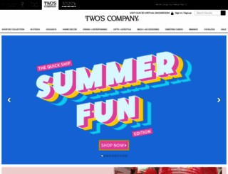 twoscompany.com screenshot