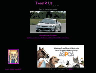twosrus.com screenshot