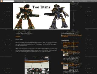 twotitans.blogspot.com screenshot