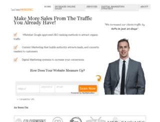 twotreesmarketing.com screenshot