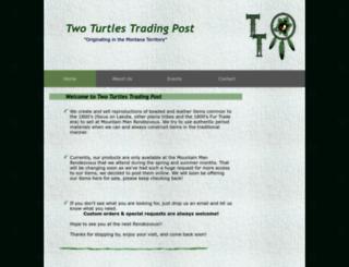 twoturtlestradingpost.com screenshot