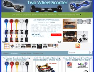 twowheel-scooters.com screenshot
