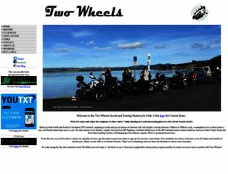 twowheels.co.nz screenshot
