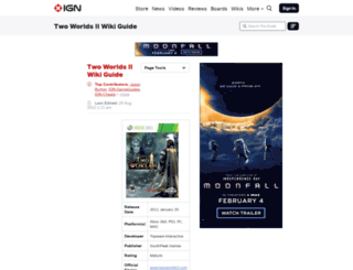 twoworldsvault.ign.com screenshot