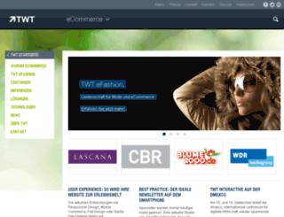 twt-ecommerce.de screenshot