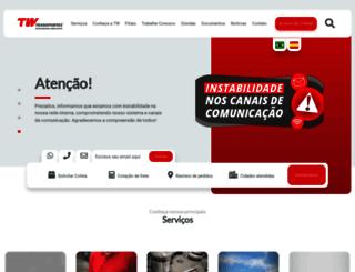 twtransportes.com.br screenshot