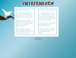twtrfrnd.com screenshot