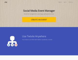 twtvite.com screenshot