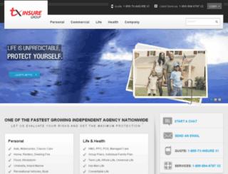 tx-insure.com screenshot