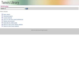 tx-lib.commnet.edu screenshot