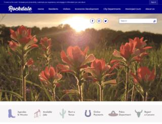 tx-rockdale.civicplus.com screenshot