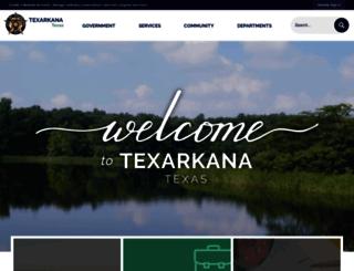 tx-texarkana.civicplus.com screenshot