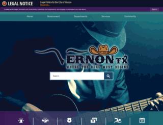 tx-vernon.civicplus.com screenshot