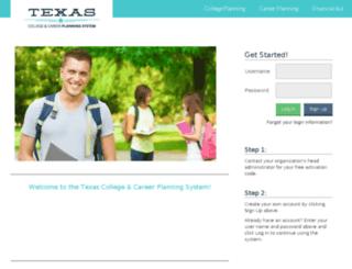 tx.kuder.com screenshot