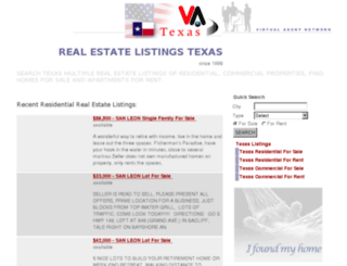 tx.virtual-agent.com screenshot