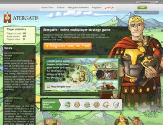 tx256.atergatis.com screenshot