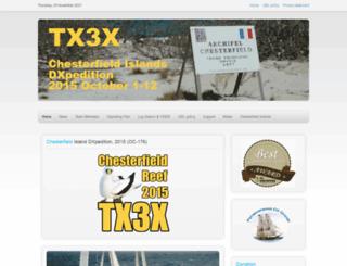 tx3x.com screenshot