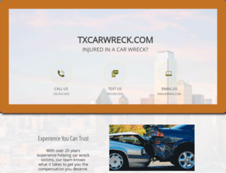 txcarwreck.com screenshot