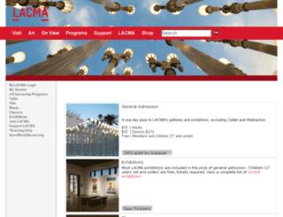 txdev1.lacma.org screenshot