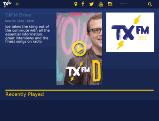 txfm.ie screenshot