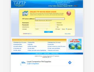 txftp.com screenshot