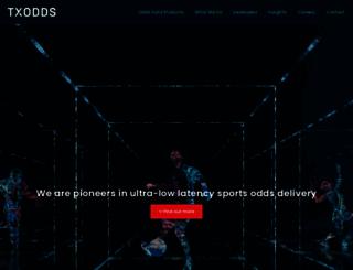 txodds.com screenshot