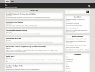 txt.binnyva.com screenshot