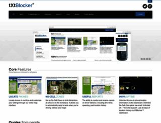 txtblocker.com screenshot