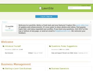 txvgtfk.lawnsite.com screenshot