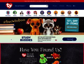 ty.com screenshot