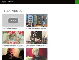 tyceandrews.com screenshot