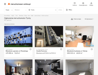 tychy.nieruchomosci-online.pl screenshot