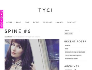 tyci.org.uk screenshot