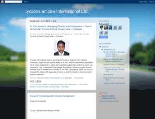 tycoonsempireinternationalltd.blogspot.in screenshot