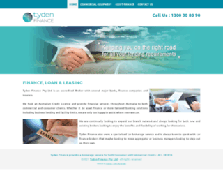 tydenfinance.com.au screenshot
