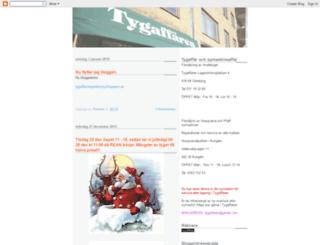 tygaffaren.blogspot.se screenshot