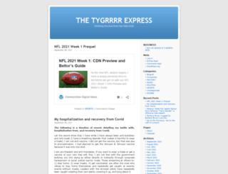 tygrrrrexpress.com screenshot