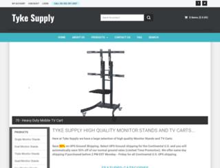 tykesupply.com screenshot