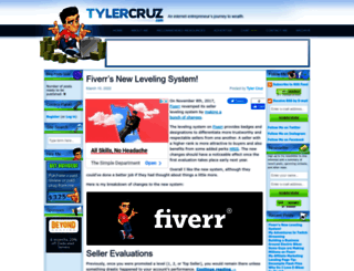 tylercruz.com screenshot