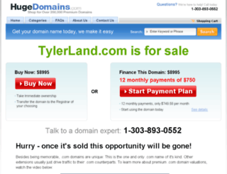 tylerland.com screenshot