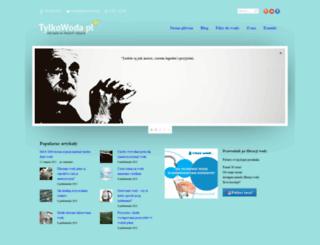 tylkowoda.pl screenshot