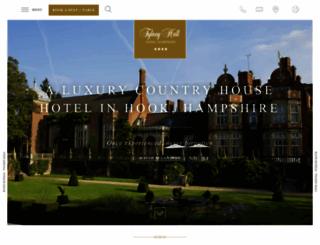 tylneyhall.co.uk screenshot