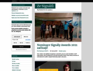 tym.signaly.cz screenshot