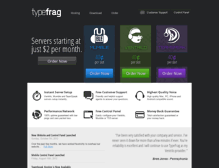 typefrag.com screenshot